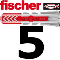 Fischer Duopower 5x25  - 100 Stück