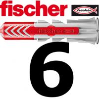 Fischer Duopower 6x30  -  100 Stück