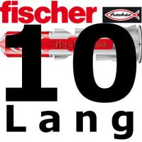fischer Duopower 10x80 lang  -  10 Stück